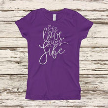 His Love Gives Life Girls Shirt-ellyandgrace
