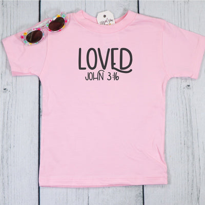 Loved Unisex Toddler Shirt