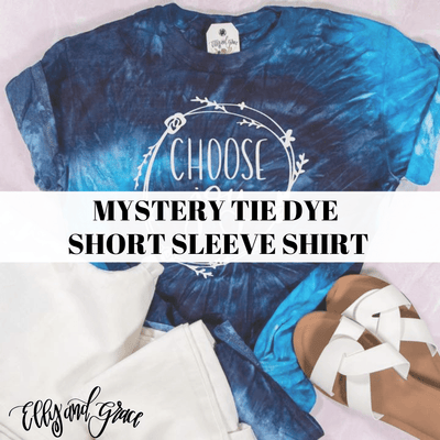 Mystery Tie Dye Short Sleeve Shirt