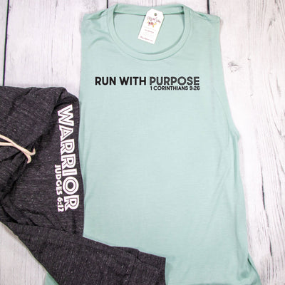 Run with Purpose Ladies Muscle Tank