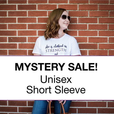 Unisex Short Sleeve Surprise Sale Pack-ellyandgrace