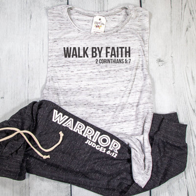Walk by Faith Ladies Muscle Tank