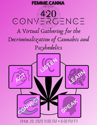 Speaking Engagement at 420 Convergence