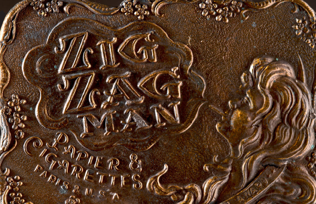 Vintage Zig Zag Man Belt Buckle