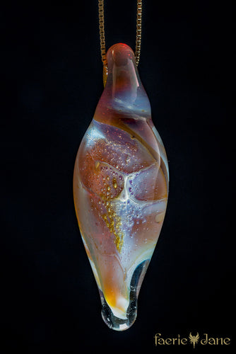 Glass Shell Pendant