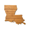 Louisiana Shaped Cutting Board