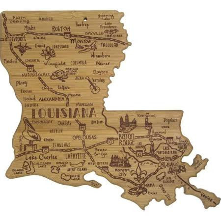 Destination Louisiana Cutting Board