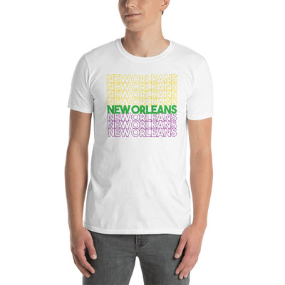 New Orleans Mardi Gras Typography T-Shirt - Box Of Care