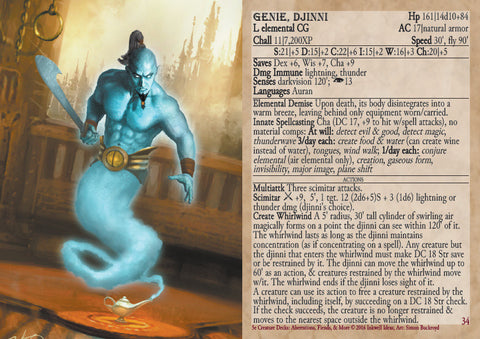 5e Creature Decks: Aberrations, Fiends, and More – Inkwell Ideas