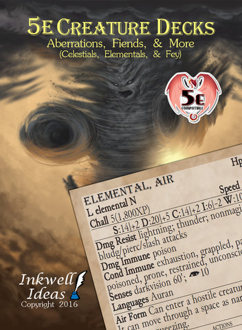 5e Creature Decks: Aberrations, Fiends, and More