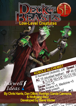 Deck of Beasts: Low-Level Creatures