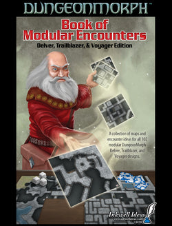 DungeonMorphs Book of Modular Encounters: Delver, Trailblazer & Voyager Edition