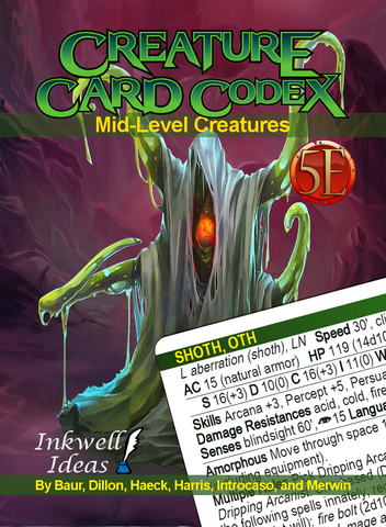 Creature Card Codex: Mid-Level Creatures