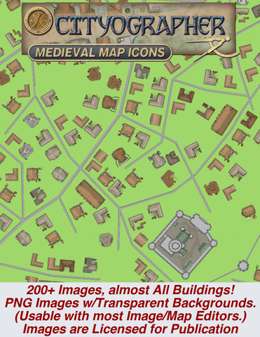 Cityographer City Map Icons Bundle