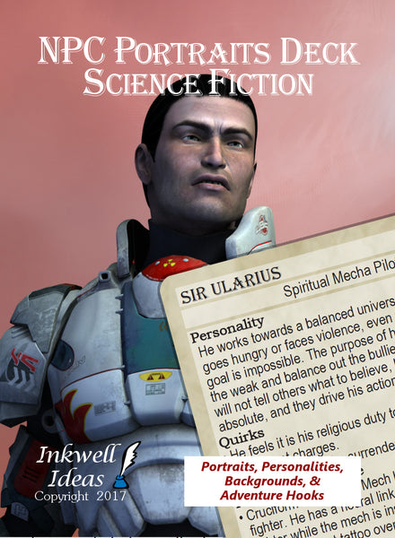 NPC Portraits Deck: Science Fiction