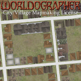 City/Town/Village License for Worldographer Software and Cityographer