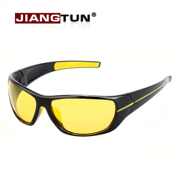 JIANGTUN Unisex Fashionable Polarized Enhanced Light for Rain / Fog / Clouds Sunglasses - Sunglasses Deal Center