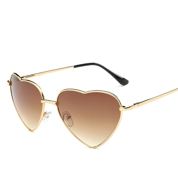 Women's Heart Shaped Gradient Sunglasses - Sunglasses Deal Center