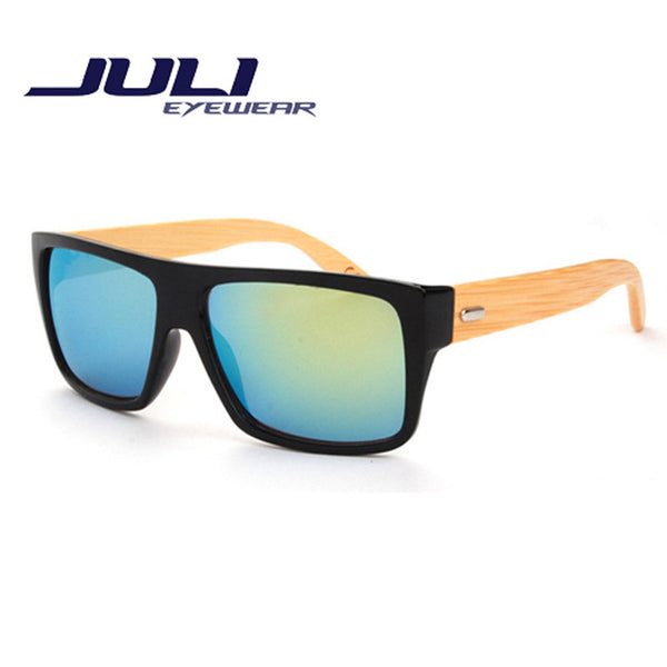 Juli Unisex Bamboo Sunglasses - Sunglasses Deal Center