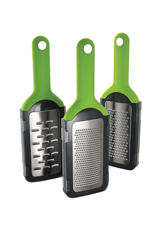 SIMPOSH HANDHELD GRATER BUNDLE (COARSE, FINE AND SHAVER GRATERS)