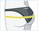 How to measure for panties