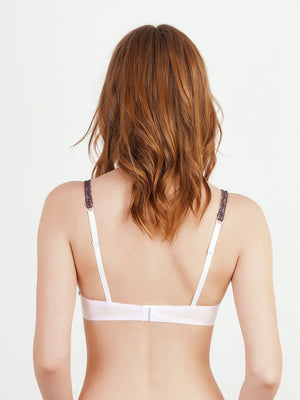 Alisee Le Style Dolce Lace Push-Up Bra 77645: Water Lily - Miss Venera