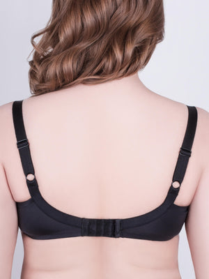 Milavitsa Basic 115910 Unlined Bra, Black - MissVenera.com