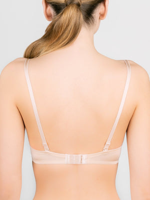Milavitsa Basic 124310 Push-Up Bra, Nude - MissVenera.com