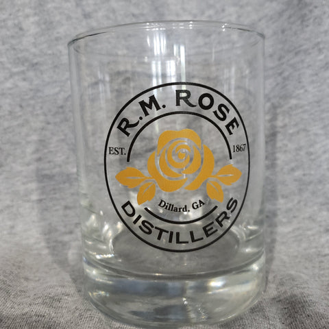GLASS R.M. Rose logo