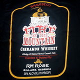 T-Shirt Across The Wide with Fire on the Mountain Cinnamon Whiskey
