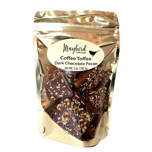 Candy - Maybird COFFEE TOFFEE Dark Chocolate Pecan