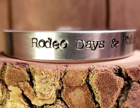 Bracelet - Rodeo Days & Whiskey Nights