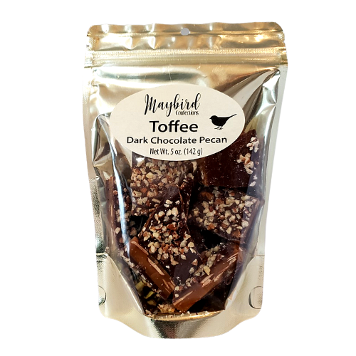 Candy - Maybird Dark Chocolate Pecan Toffee