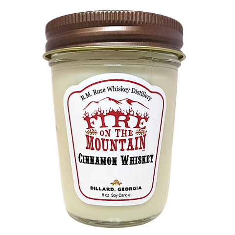 Candle - Fire on the Mountain Cinnamon Whiskey