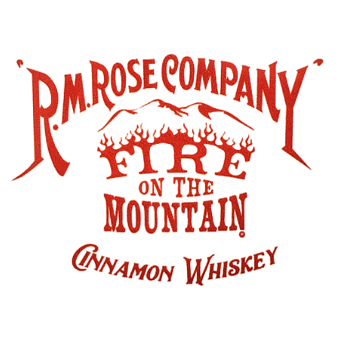 Sticker - R.M. Rose Company Fire on the Mountain Cinnamon Whiskey