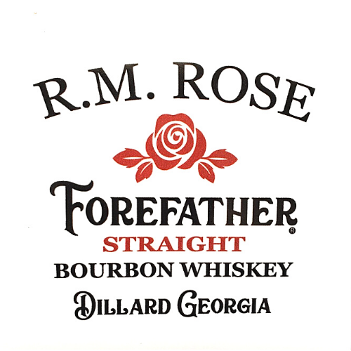 Sticker - R.M. Rose Forefather Whiskey