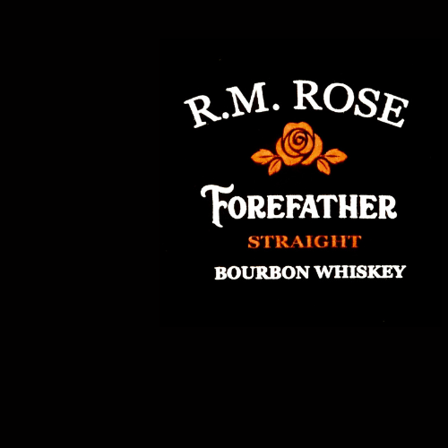 T-Shirt R.M. Rose Forefather Straight Bourbon Whiskey