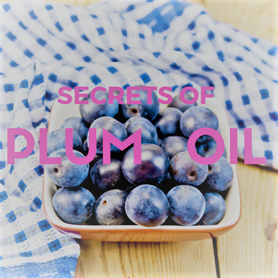 SECRETS of FRENCH ORGANIC PLUM OIL