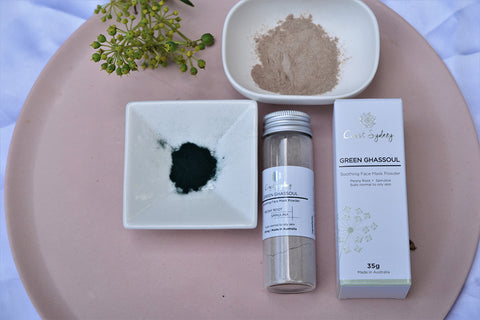 GREEN GHASSOUL: Moroccan Clay Mask Powder