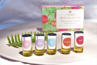 Sample Pack of 5 mini 1ml True Natural Perfume