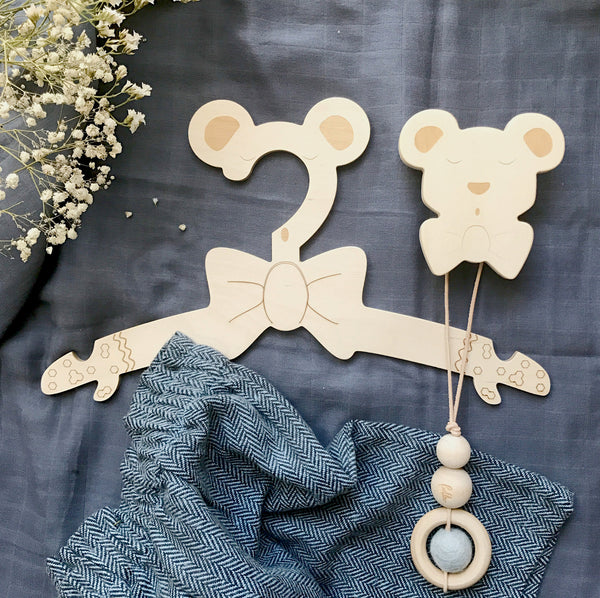 Hooks Bear - Package with 3 pcs