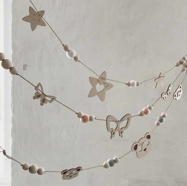 Garlands Butterly - Package with 3 pcs