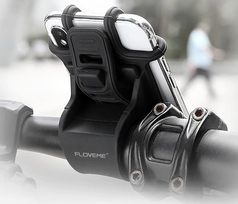 Universal motorcycle/bicycle cell phone holder. - Biker Wear House