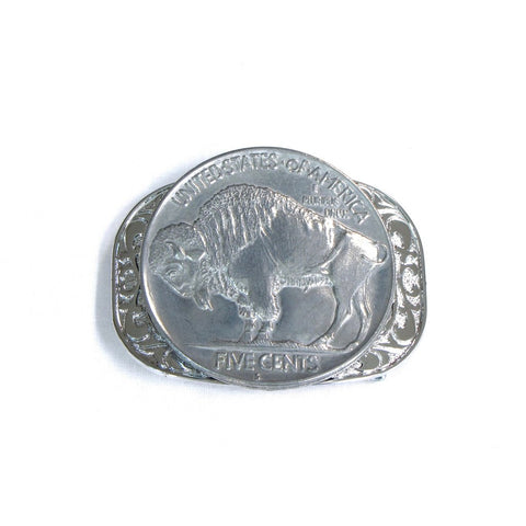 Buffalo Nickel Belt Buckle - Biker Wear House