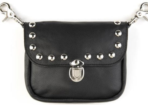 Studded Clip Purse - Biker Wear House