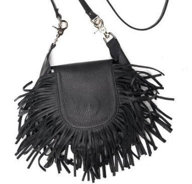 Fringed Clip Purse - Biker Wear House