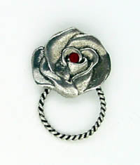 Sunglass Pin Rose - Biker Wear House