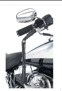 Black Leather Motorcycle Lever Cover - Biker Wear House