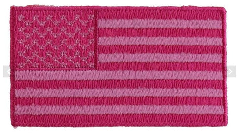 Pink Flag Patch - Biker Wear House