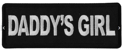 Daddy's Girl Patch - Biker Wear House